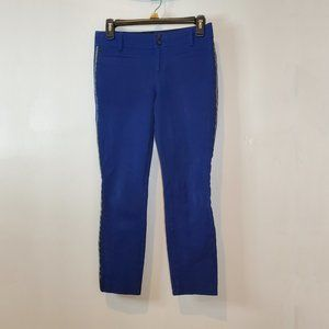 Anthropologie the essential slim pants blue